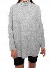 Bella pullover lt grey mel