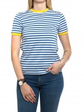 Uda shirt blue yellow