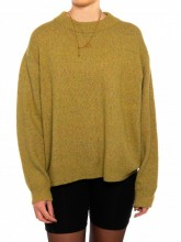 Edera pullover green yellow