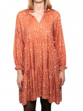 Cecilia dress orangeprint