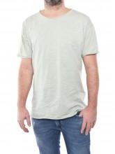 Aron t-shirt aqua grey