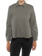 Ida blouse check
