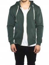 Pavel zipper jacket jungle green