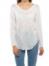 Oliana longsleeve white