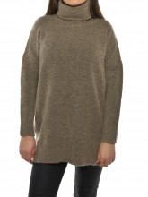 Lilo knit pullover castanho