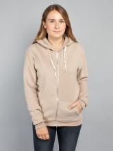 Kima zipper jacket camel