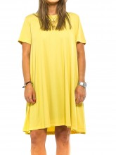 Unna dress yellow