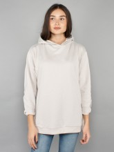 Mia hooded sweatshirt dusty grey