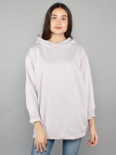 Mia hooded sweatshirt dusty lilac