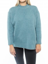 Fern pullover blue green