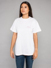 Girl gang t-shirt white rose