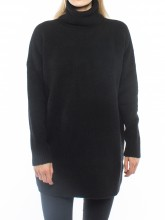 Lilo knit pullover black