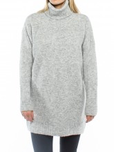 Lilo knit pullover grey