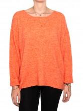 Mille pullover orange