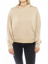 Natasja hooded sweatshirt beige