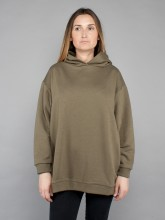 Mia hooded sweatshirt olive