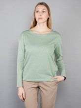 Dorrie longsleeve dusty green