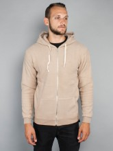 Kima zipper jacket men camel