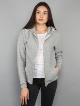 Kima zipper 162 grey mel