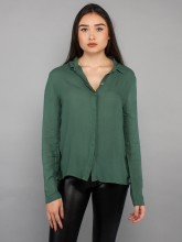Nanna blouse leaf green