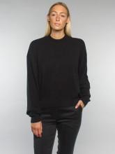 Fine pullover black