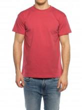 Uni t-shirt dark pink