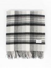 Dibo scarf checked grey