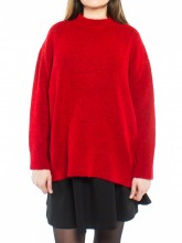 Fern pullover true red
