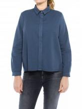 Ida blouse navy