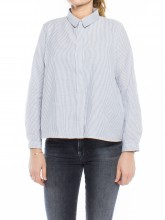 Ida blouse navy stripe