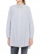 Nuria blouse navy stripe
