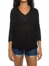 Pia shirt black