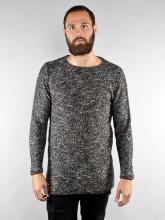 Robert pullover long 001 black