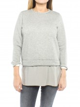 Nadire sweatpullover grey