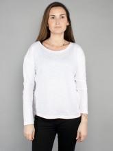 Dorrie longsleeve white