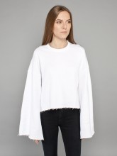 Najo sweatshirt white