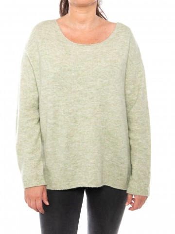 Mille pullover green