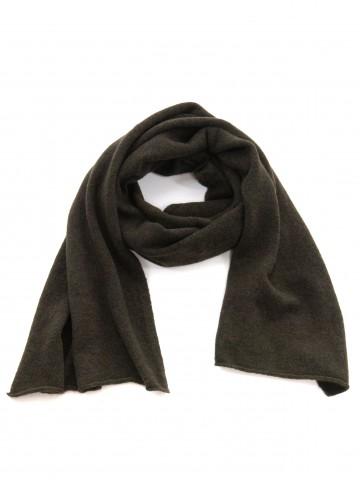 Mille scarf dk green