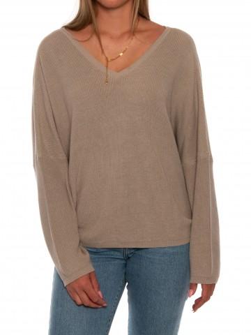 Duva pullover taupe