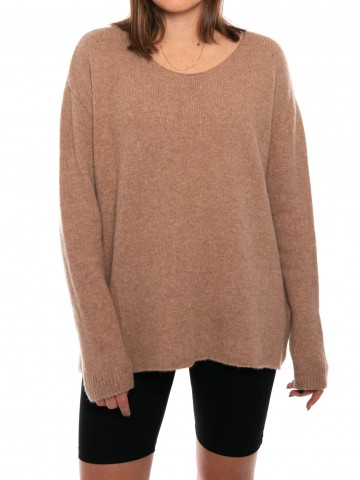 Mille pullover dusty rose