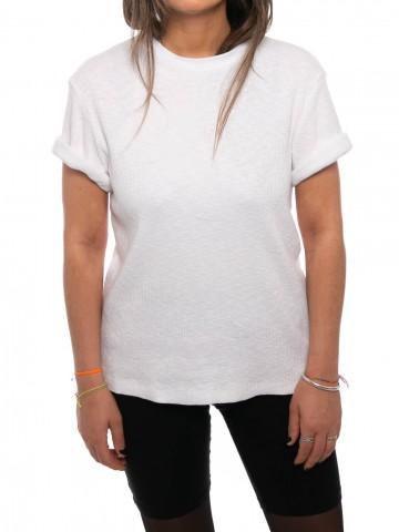Beke t-shirt rip white