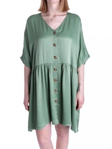 Davina dress shiny green bay