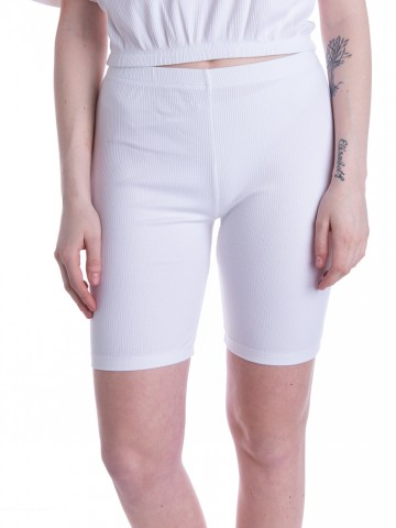 Melo rippe shorts white