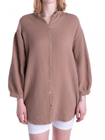 Melisa shirt ginger snap