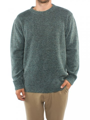 Kaj pullover blue green