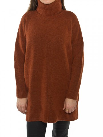 Lilo knit pullover wild ginger