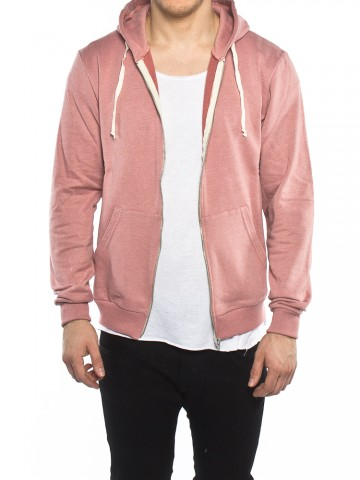 Pavel zipper jacket rose