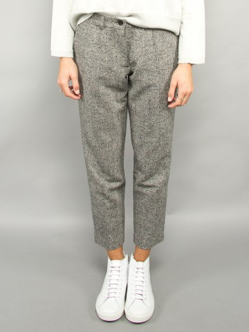 Lilly wool pants grey