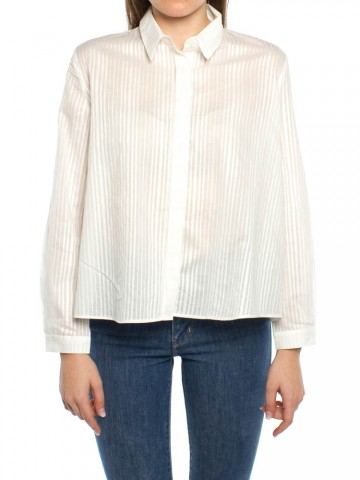 Ida blouse white striped