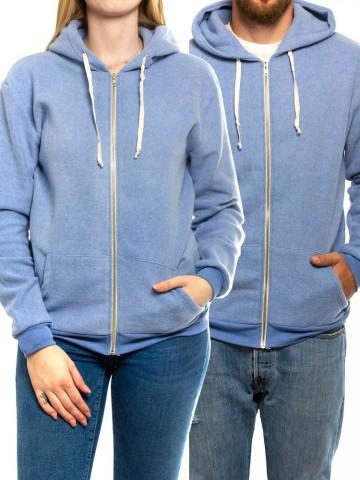 Kima zipper jacket blau